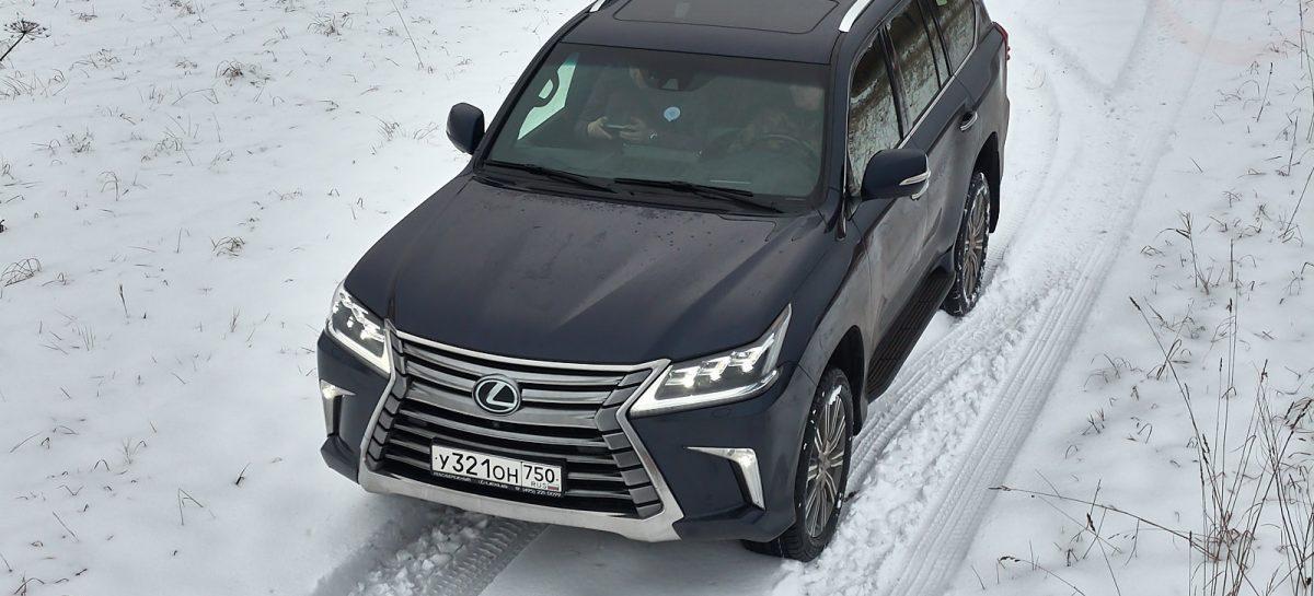 Lexus подала заявку на регистрацию товарного знака LX600 в патентное бюро США