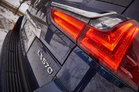 Тест-драйв Lexus LX570 – самый большой из породы