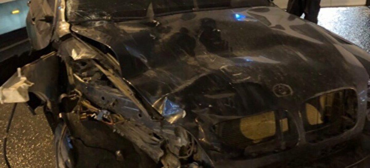 BMW врезался в толпу пешеходов в Петербурге: двое погибли, трое пострадали