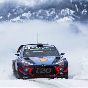 Hyundai Motorsport второй раз поднимается на подиум в Чемпионате мира FIA по ралли