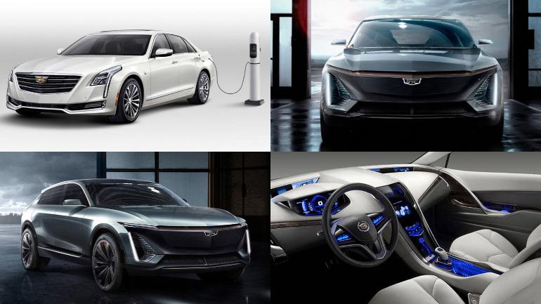Электрокар Cadillac 1