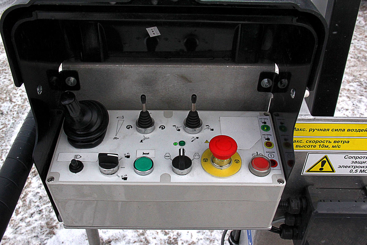 Ford Transit_АГП_пульт управления
