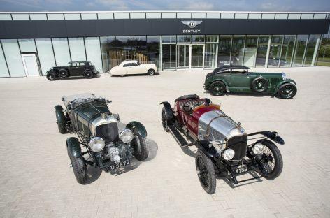 Юбилей Bentley: 100 лет удивительных событий