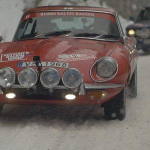 Jaguar в Историческом ралли Монте-Карло