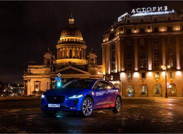 Компания Jaguar Land Rover Россия завершила пробег между Москвой и Санкт-Петербургом на Jaguar I-PACE