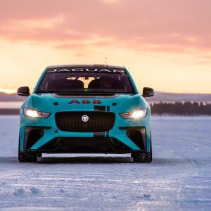 Jaguar Racing выходит на лед в арктическом испытании