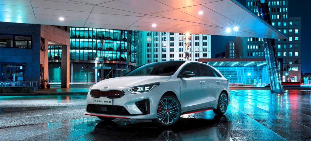 Новая модель KIA ProCeed дебютирует в России