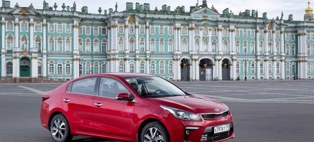 KIA Rio стала самой распространенной иномаркой в России