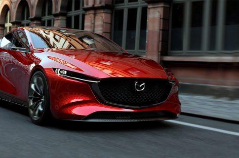 Mazda привезет в Женеву новый кроссовер