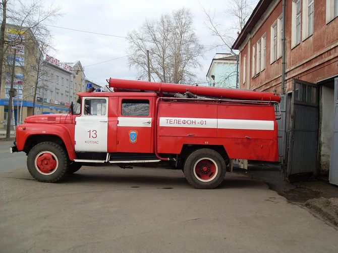 Пожарная автоцистерна АЦ-40 (130)-63