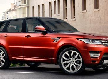 Jaguar Land Rover представляет новый Range Rover Sport HST