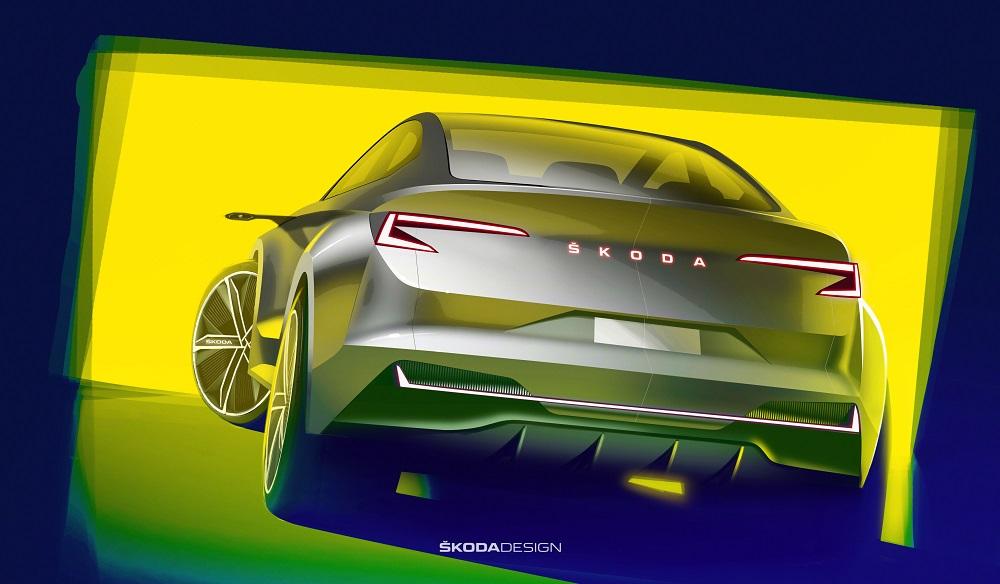 SKODA VISION iV воплощает взгляд чешского бренда на будущее электромобилей