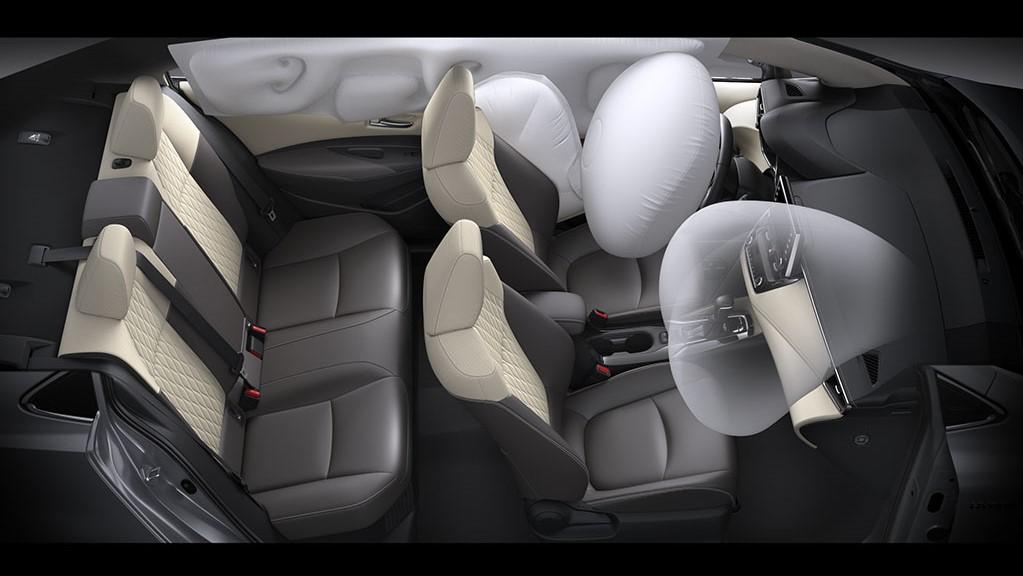 Toyota Corolla 2019 безопасность