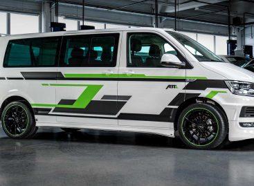 Тюнеры электрифицировали Volkswagen Transporter T6