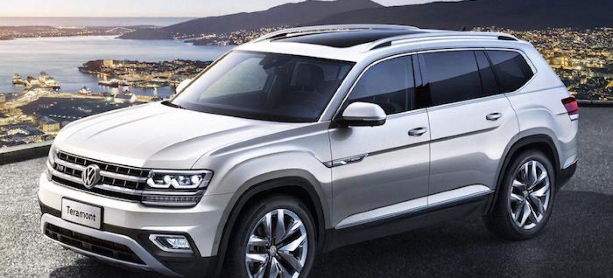 Volkswagen убавил мощность Teramont для России