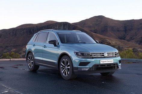 Volkswagen представляет специальную версию Tiguan CONNECT