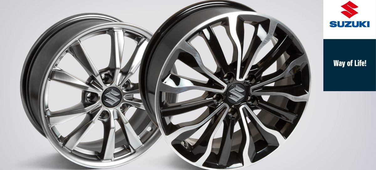 Suzuki предлагает специальные цены на литые диски
