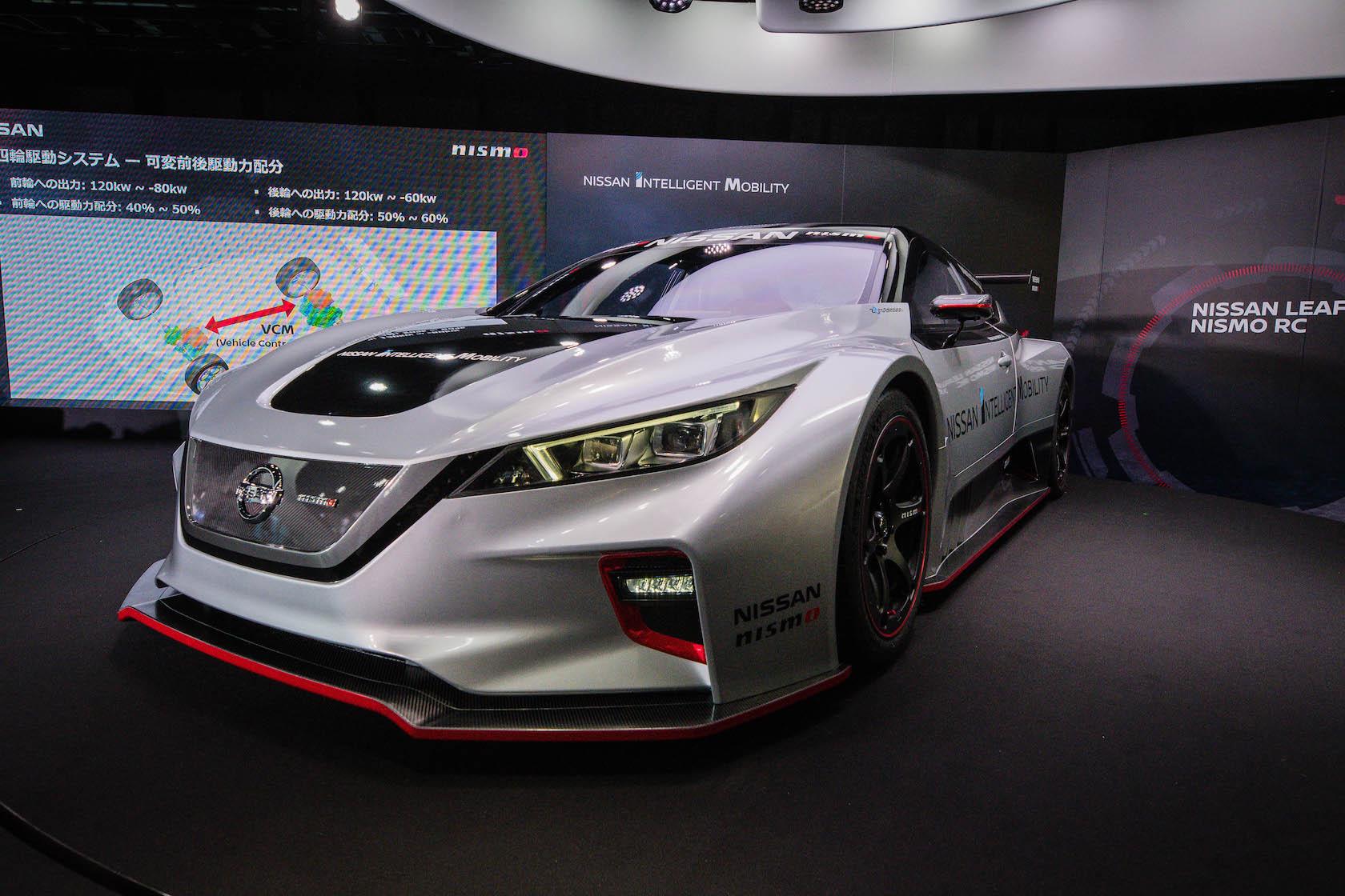 Nissan LEAF formula e