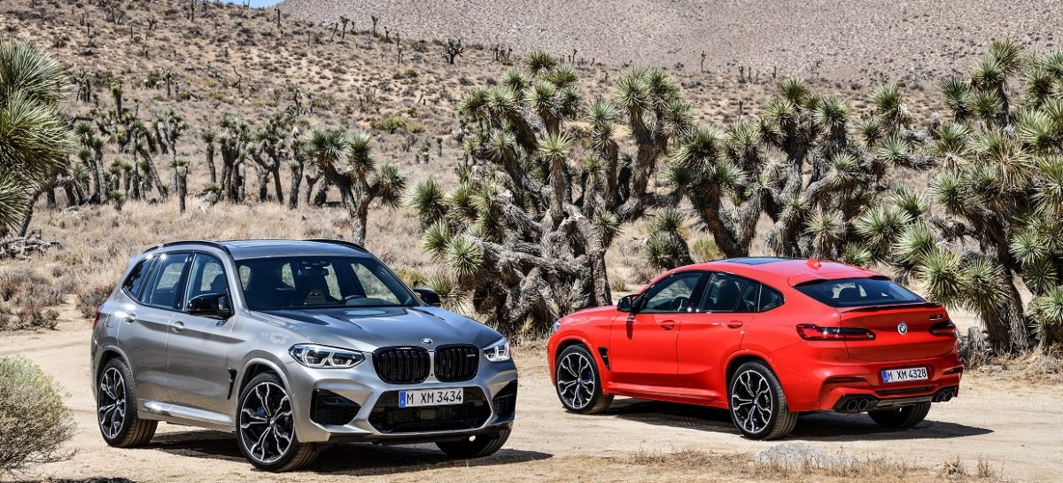 Новые BMW X3 M и BMW X4 M и их версии Competition.
