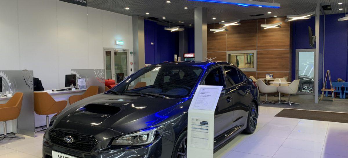 Дилерская сеть Subaru возобновила работу