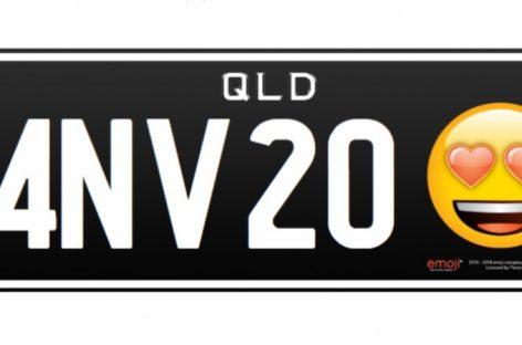 Автомобильные номера с эмодзи появятся в Австралии