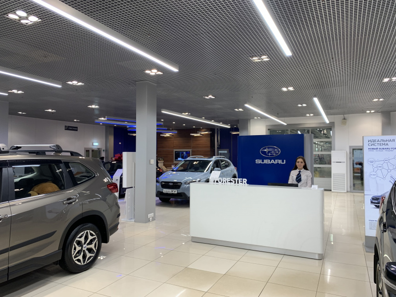 дилерский центр Subaru