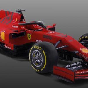 Ferrari продемонстрировала новую машину для Формулы-1