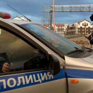 Водитель ФСО вызвал семь нарядов полиции из-за проколотого колеса