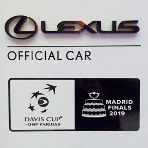 LEXUS — официальный партнер финальной серии крупнейшего международного  теннисного турнира - кубка Дэвиса 2019