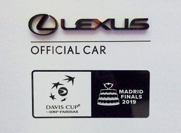 LEXUS — официальный партнер финальной серии крупнейшего международного  теннисного турнира – кубка Дэвиса 2019