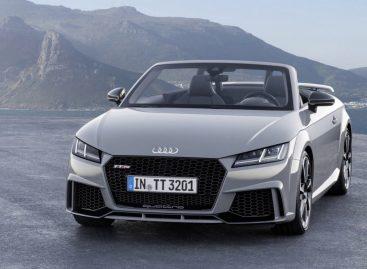 Представлен обновленный спорткар Audi TT RS
