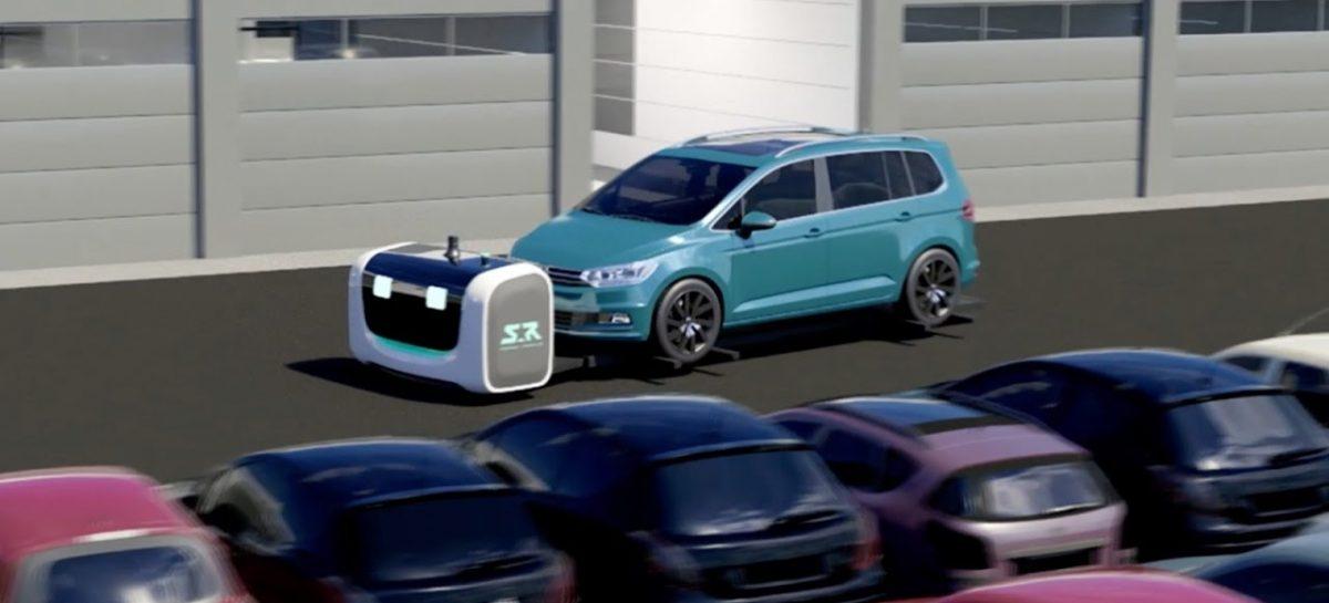 Во Франции прошел испытания робот-парковщик