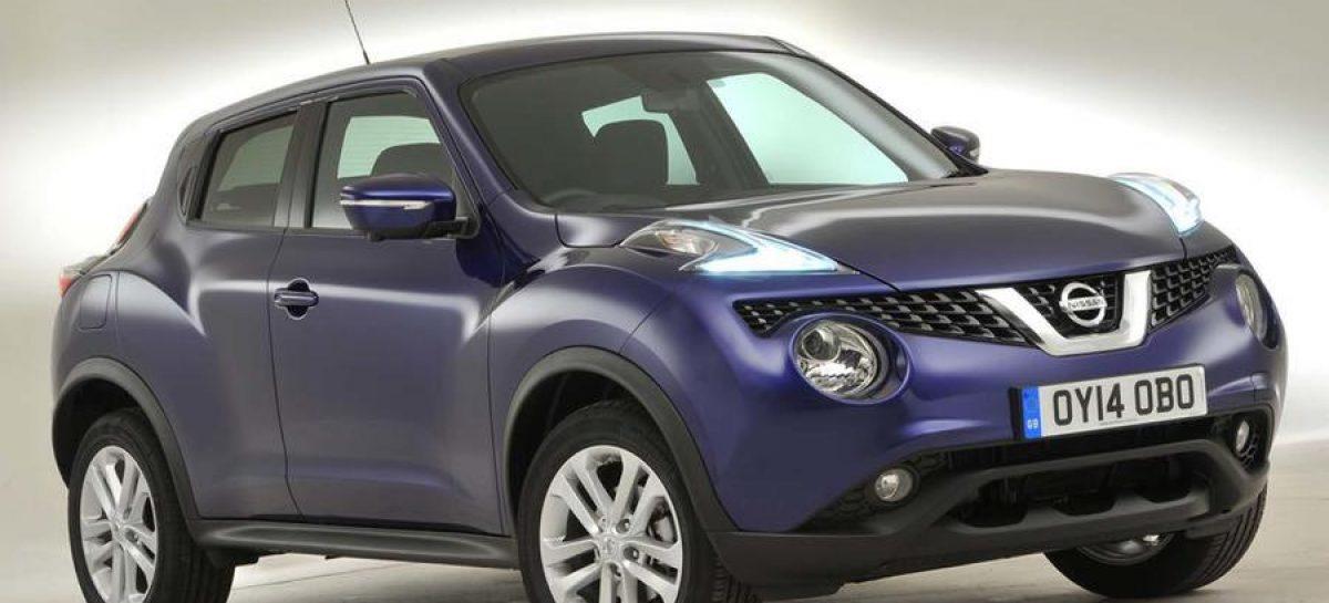 Новый Nissan Juke: появились первые шпионские фото