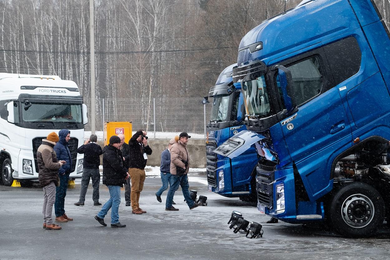 500-сильные тягачи Ford Trucks F-MAX.