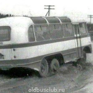 Тосно-Гаро - уникальный автобус-внедорожник времен СССР