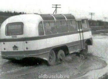 Тосно-Гаро – уникальный автобус-внедорожник времен СССР