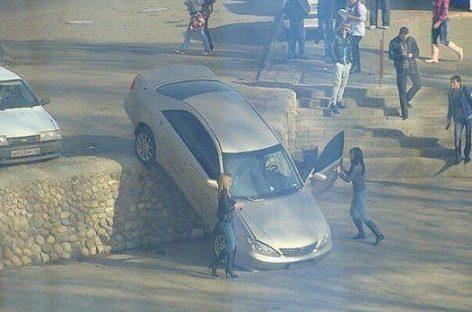 Как паркуются очень странные люди