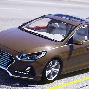 Новую Hyundai Sonata выпустят без традиционного рычага КПП