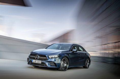 Самый доступный седан Mercedes – AMG A35 4Matic