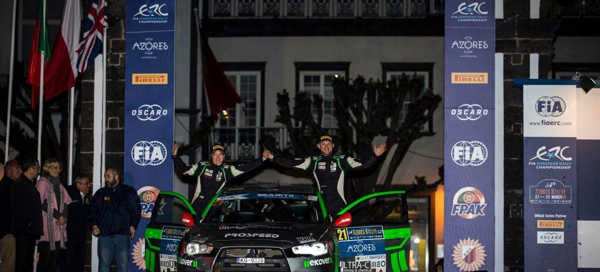 Сергей Ременник: первые зачетные очки в сезоне чемпионата Европы по ралли