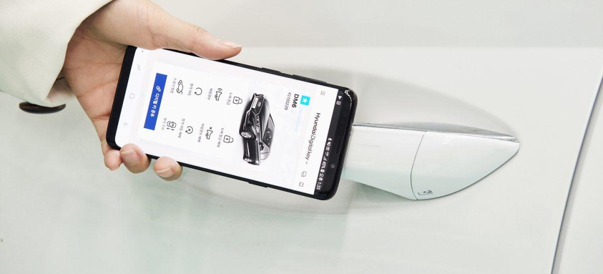 Hyundaiпланируют использование смартфона вместо ключа