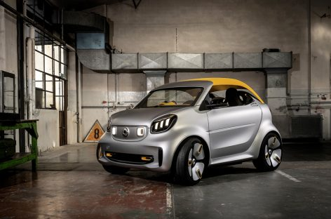 Концепт Smart forease+ представлен на Женевском автосалоне