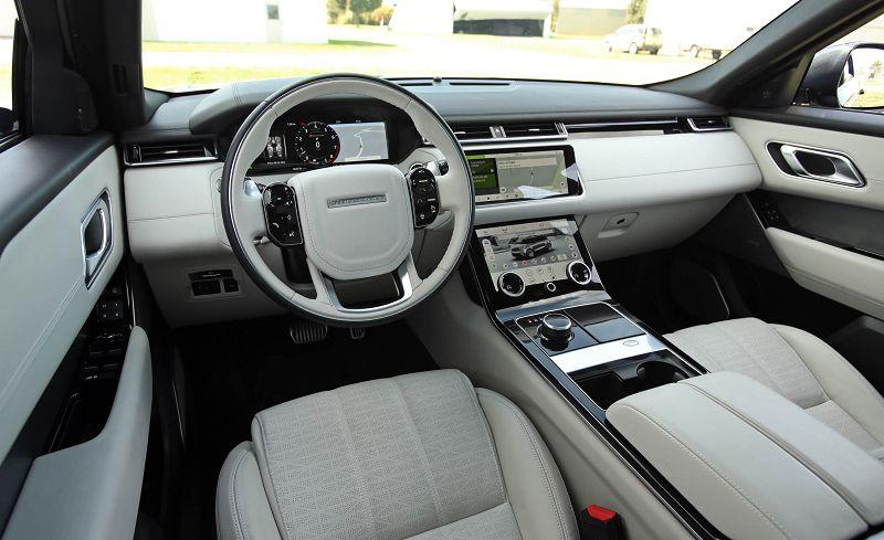 Range Rover Velar салон фото