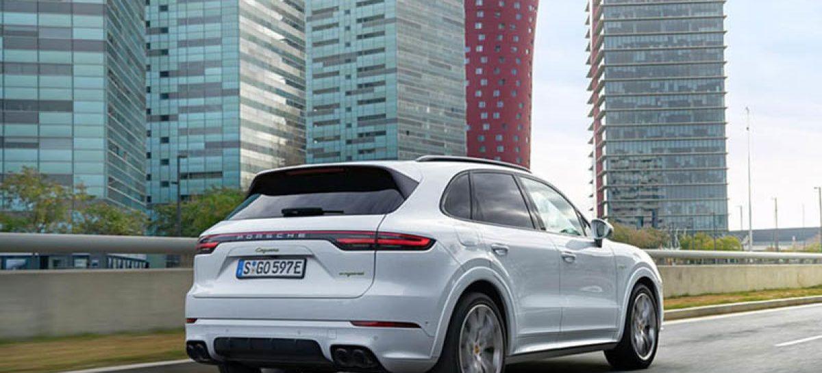 Новый Porsche Cayenne может стать электромобилем
