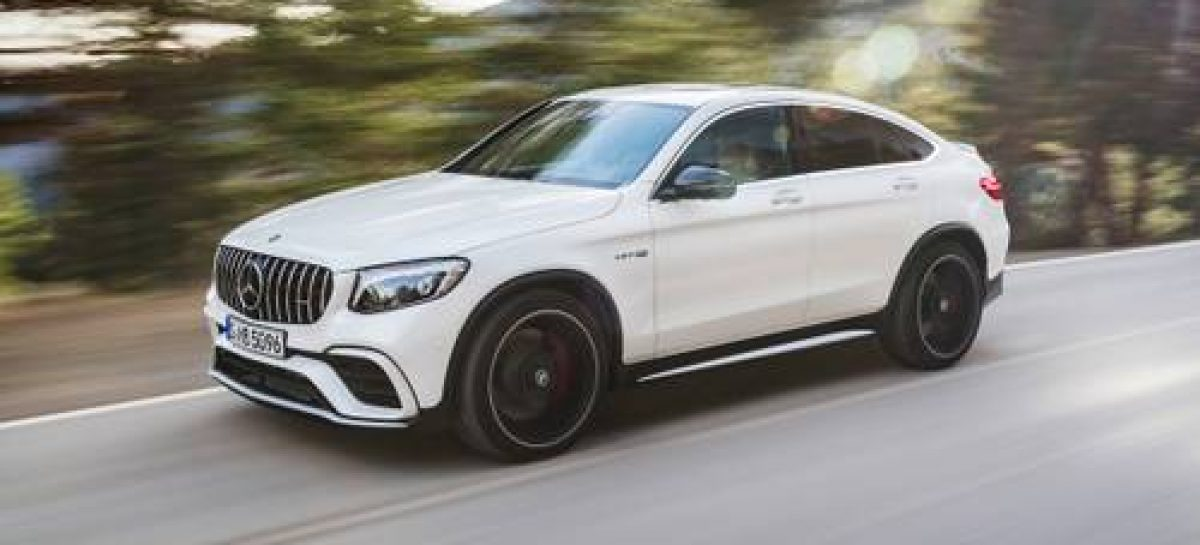 Mercedes-Benz показал обновленный GLC Coupe