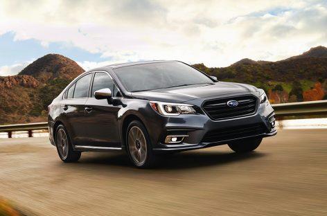 Subaru начинают приём заказов на модель Legacy 2019