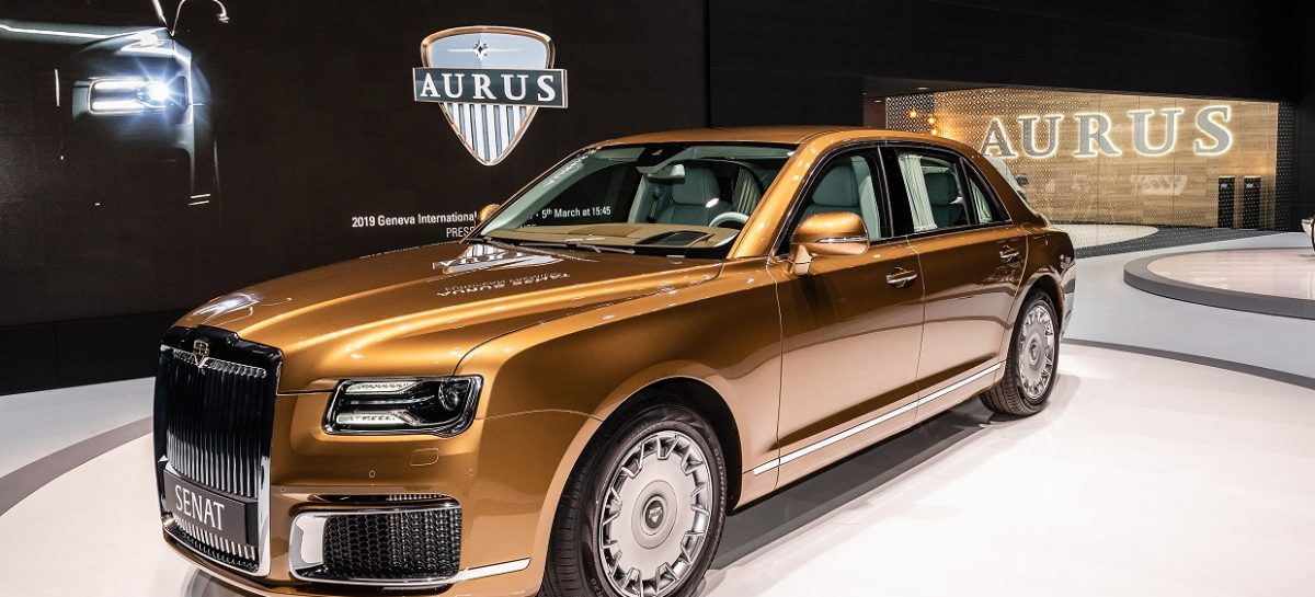 Европейская премьера автомобилей AURUS SENAT Limousine L700 и AURUS SENAT S600