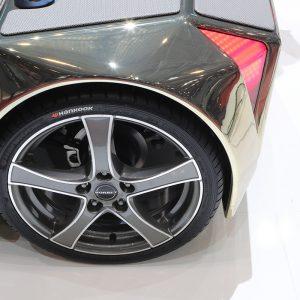 Hankook Tire совместно с Rinspeed реализуют передовой проект в области микроавтомобилей