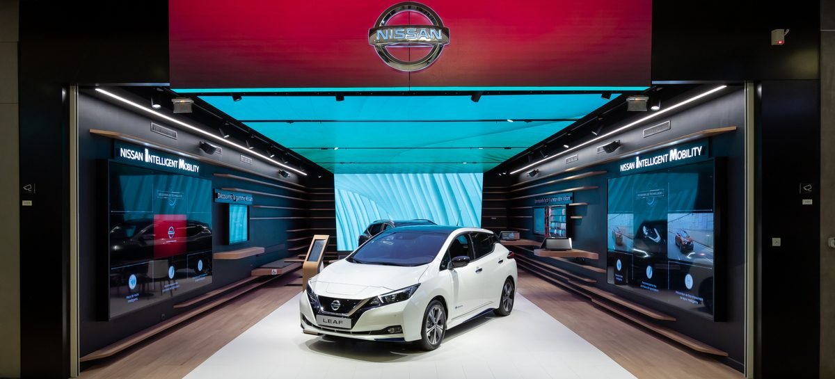 Во Франции впервые был представлен Nissan City Hub