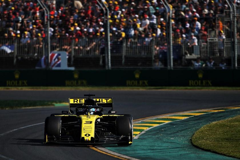 Renault F1 Team au Grand Prix de Formule 1 Rolex en Australie logo